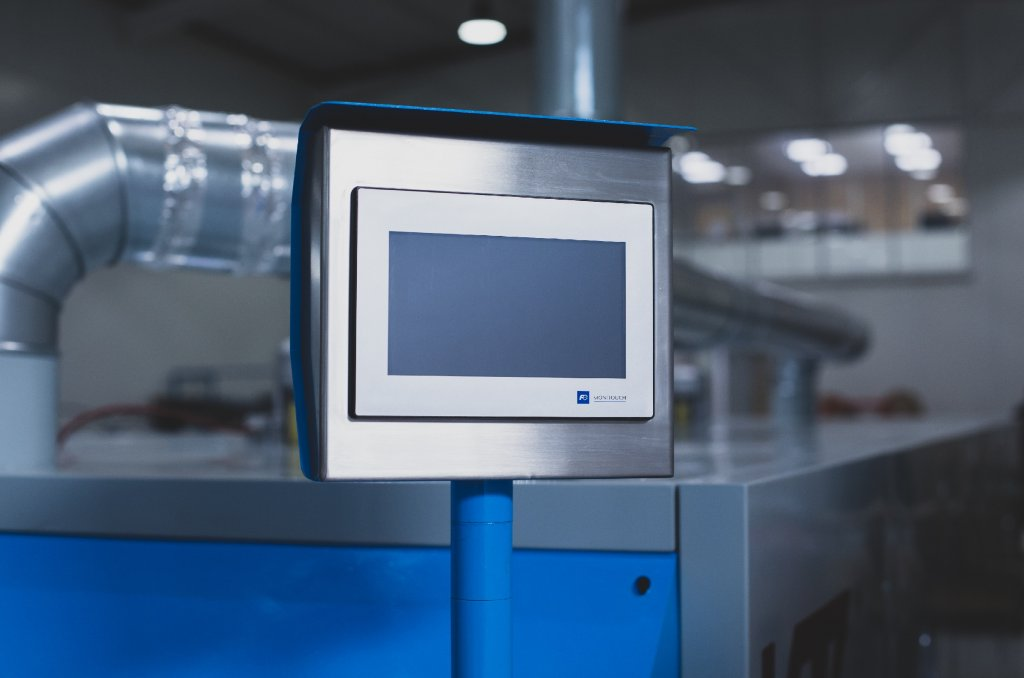 Panneau de commande avec écran LCD couleur